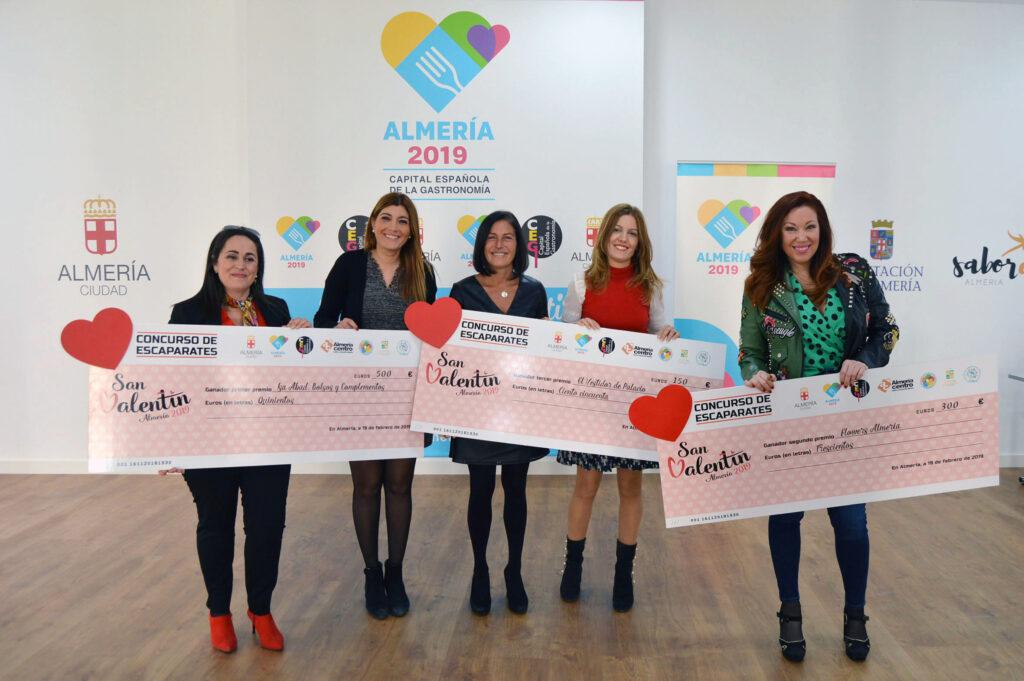 Almería   Premio Escaparates San Valentín 2019