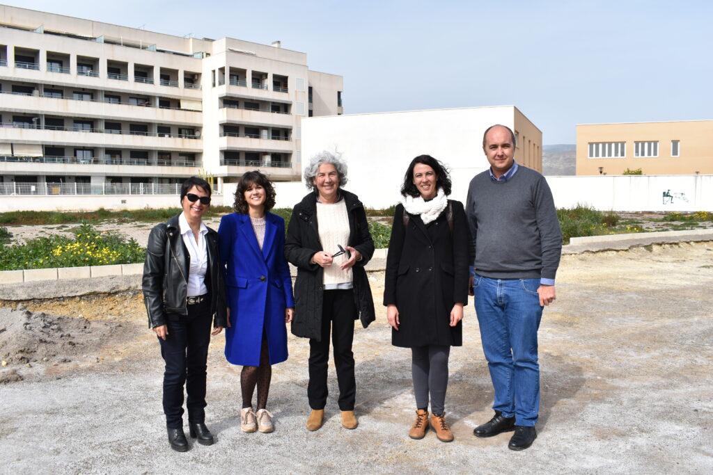 Roquetas   IU Junto a la diputada en el Congreso por Unidos Podemos, Eva Sampere