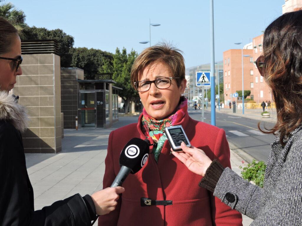 Almería   Adriana Valverde, Portavoz Socialista en el Ayuntamiento de Almería