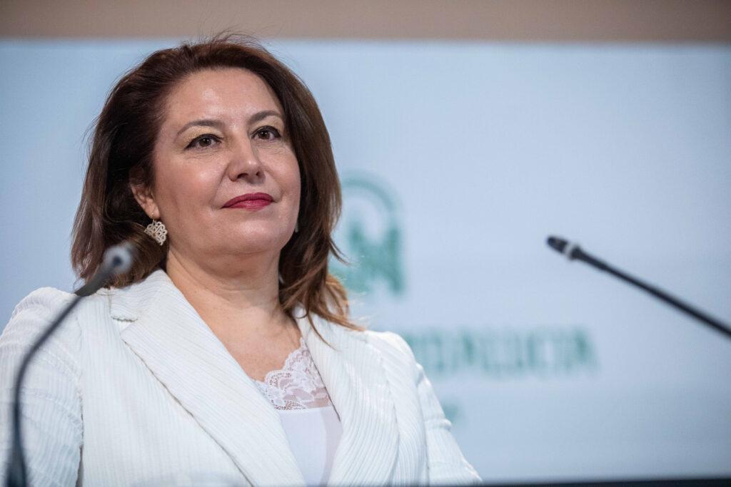 Consejera de Agricultura, Ganadería Pesca y Desarrollo Sostenible, Carmen Crespo