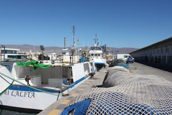 Roquetas de Mar | Barco Mi Lalita en el puerto