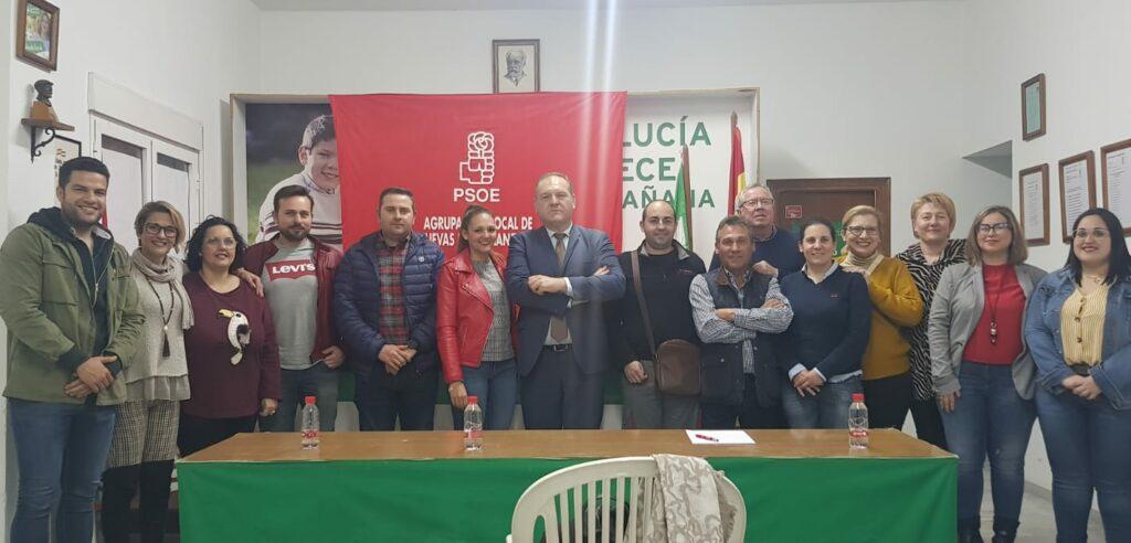 Cuevas | Candidatura del PSOE de Cuevas de Almanzora
