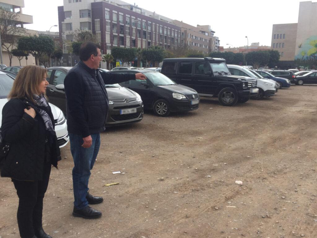 El Ejido   José Miguel Alarcón y Mónica Sánchez en un posible parking