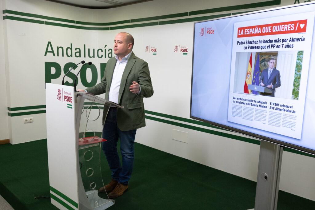 Almería | Antonio Martínez, Secretario de Organización del PSOE de Almería