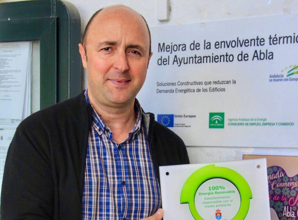 Abla | El alcalde de Abla, Antonio Oliva