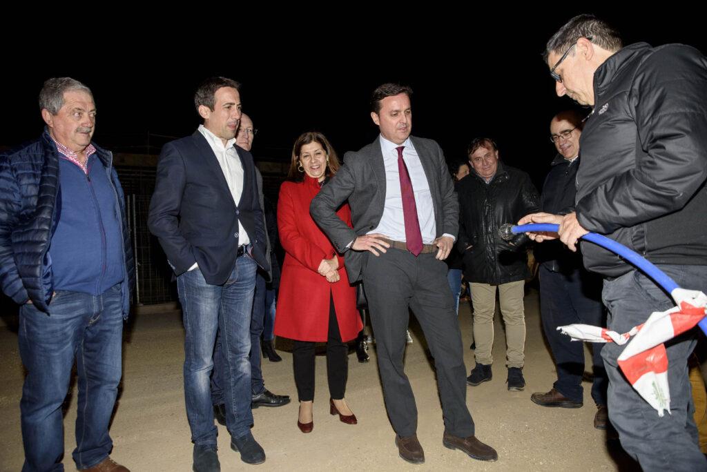 Almería   El presidente de la Diputación, Javier Aureliano García