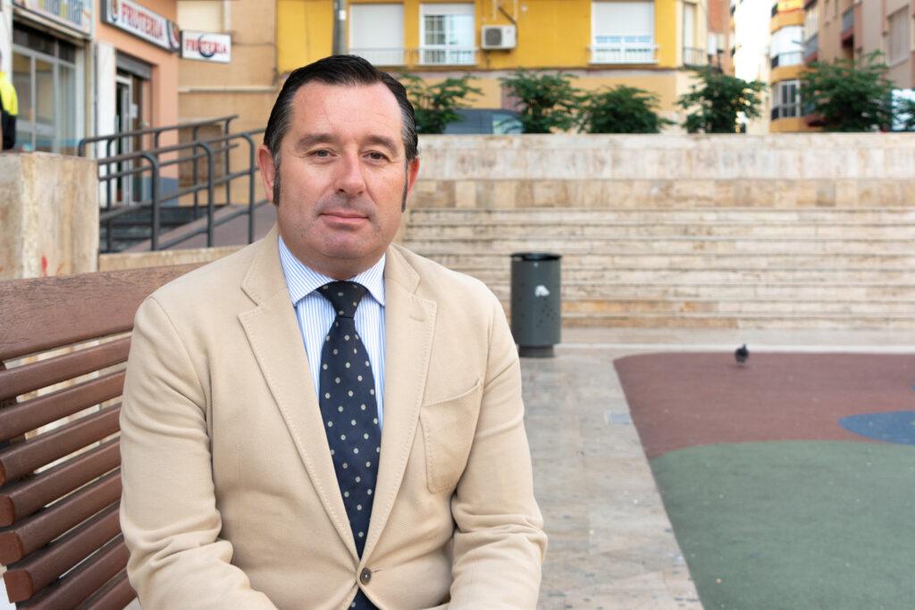 Diego Castaño, candiato socialista a la alcaldía de Olula