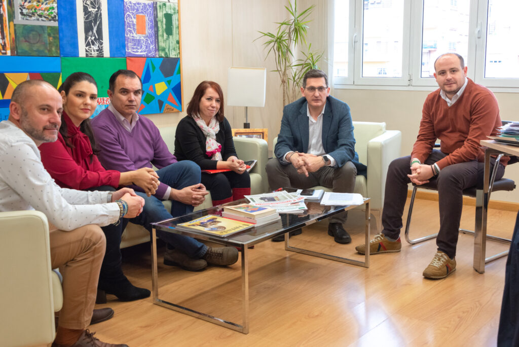 Almería   reunión PSOE y UGT