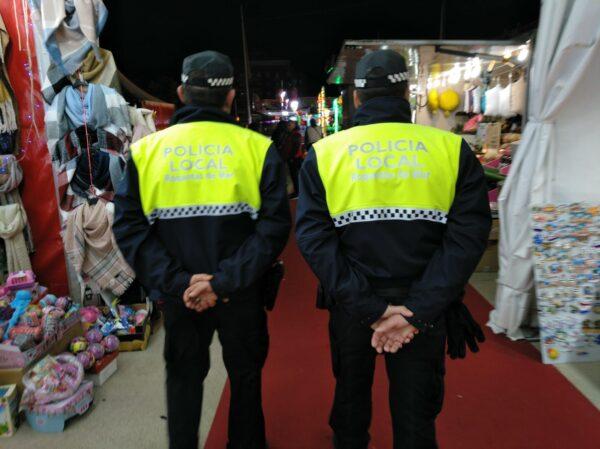 Foto de archivo policía local