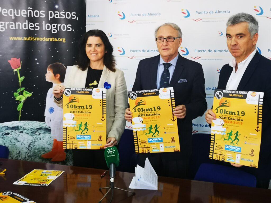 Almería   Presentación '10 Km del Puerto de Almería