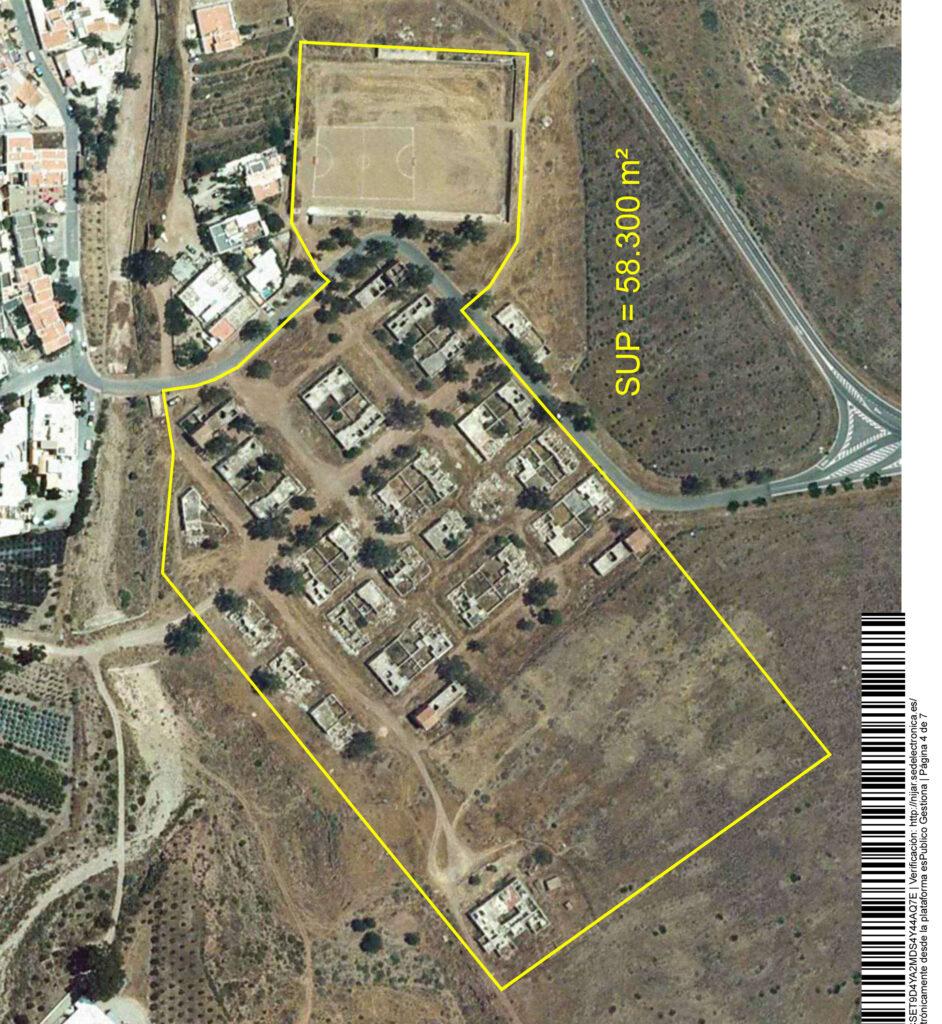 Níjar | Plano poblado minero Rodalquilar