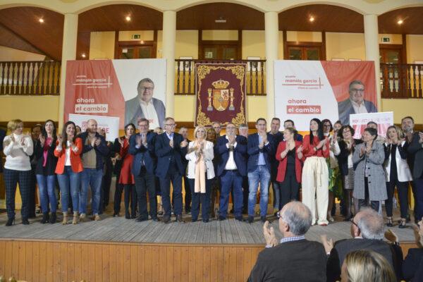 Roquetas de Mar | Acto socialista en el castillo de Santa Ana