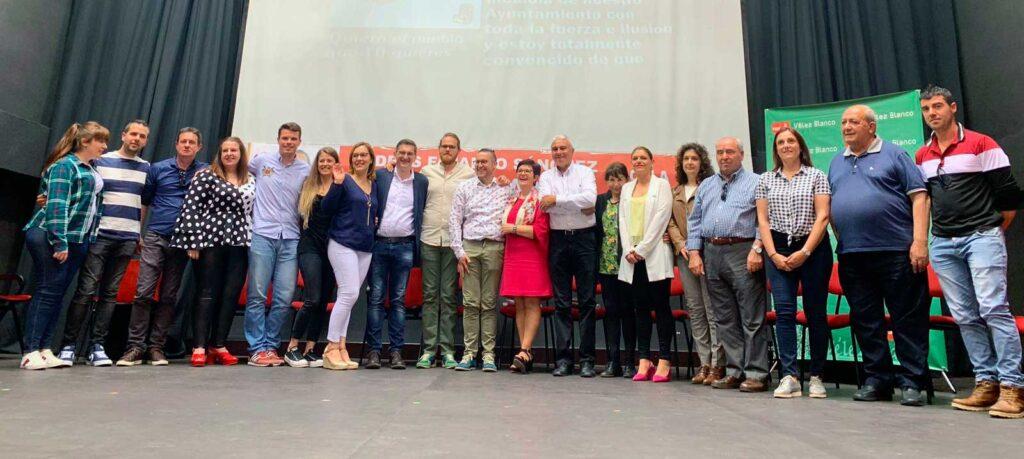 PSOE Vélez Blanco   Presentación de la candidatura a las elecciones del 26M