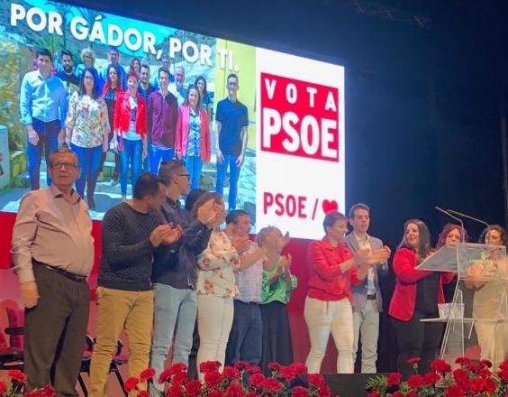 PSOE Gádor   Presentación de la candidatura a las elecciones del 26M