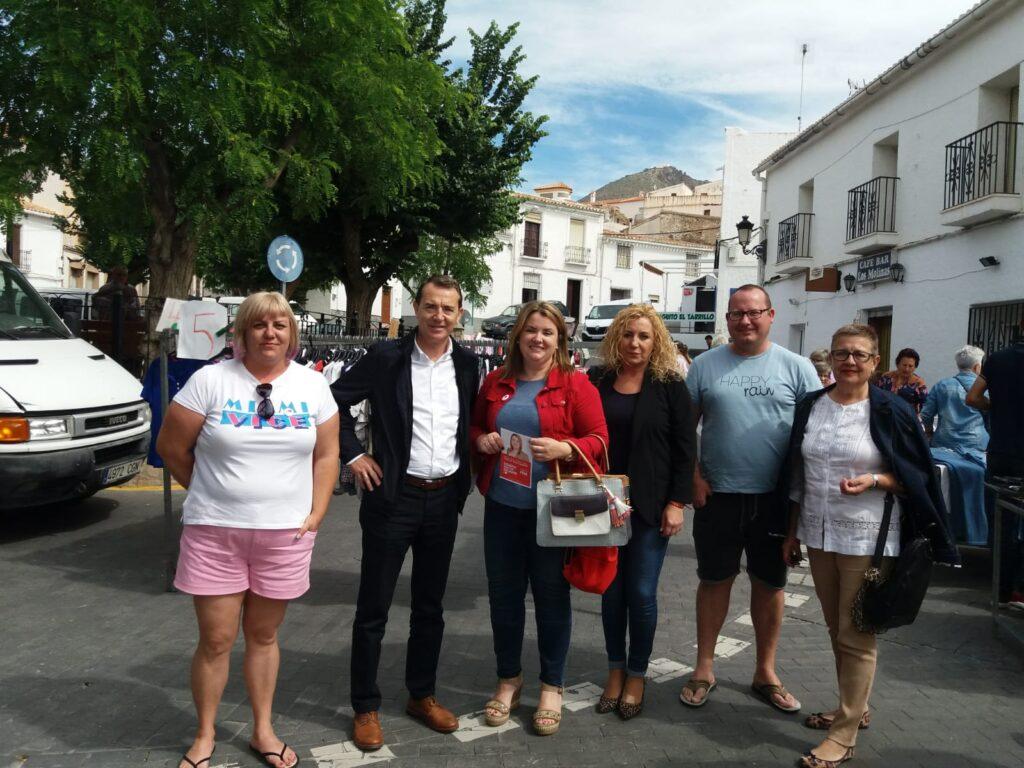 PSOE Uleila | Reparto informativo del PSOE en Uleila del Campo