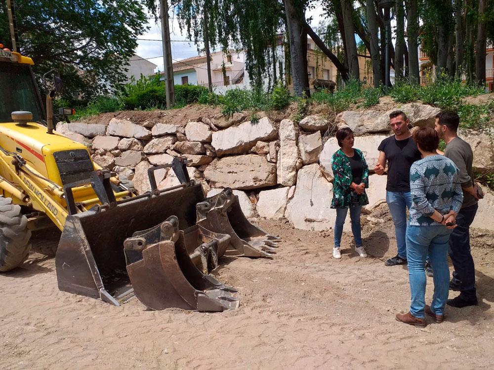 PSOE Chirivel | Obras de la Confederación Hidrográfica del Segura en Chirivel