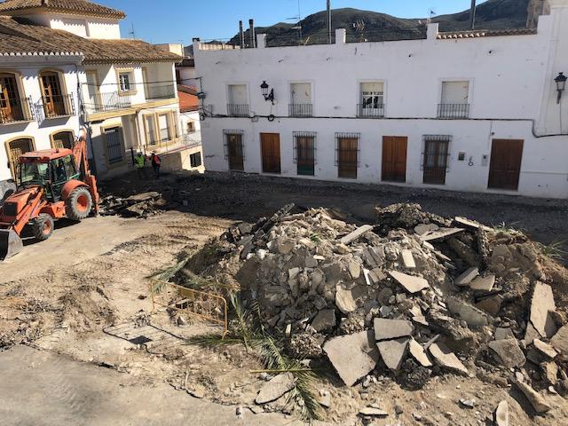 PSOE Olula del Río   Obras Plaza de España