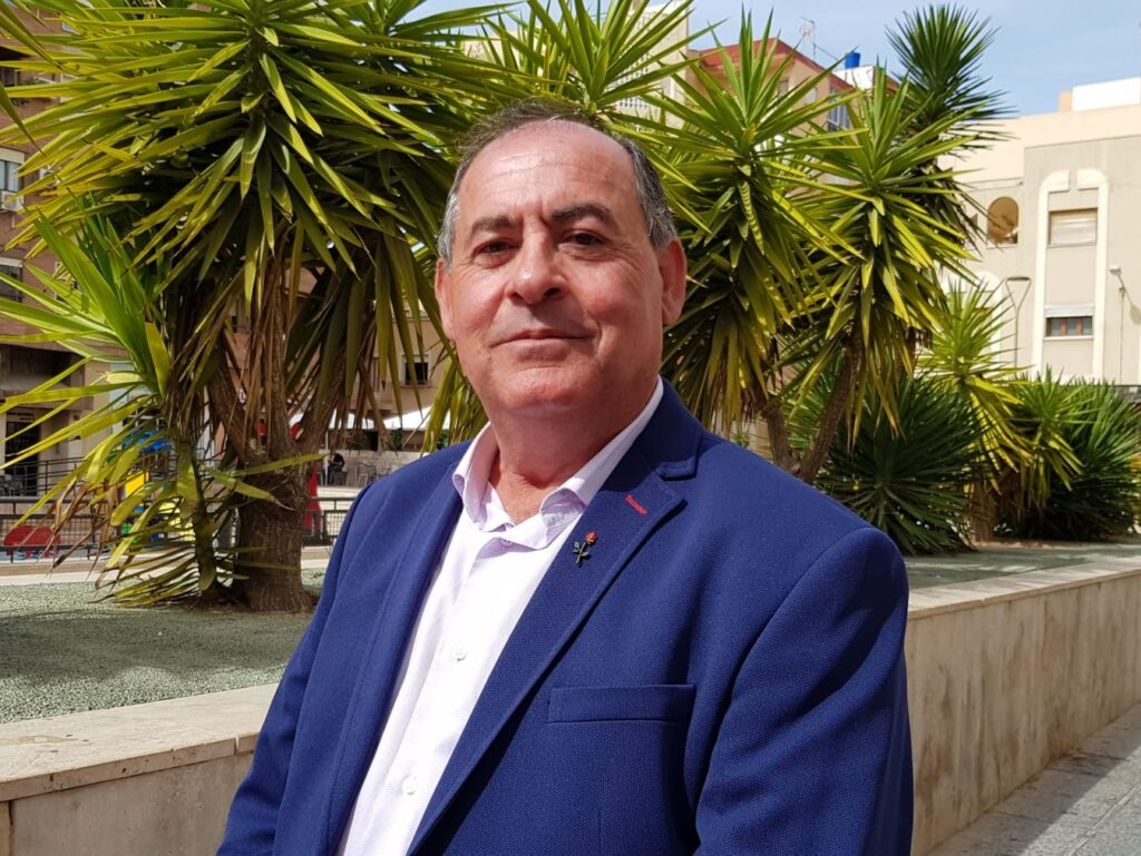 PSOE Pulpí   Luis Cáceres, candidato a la Alcaldía