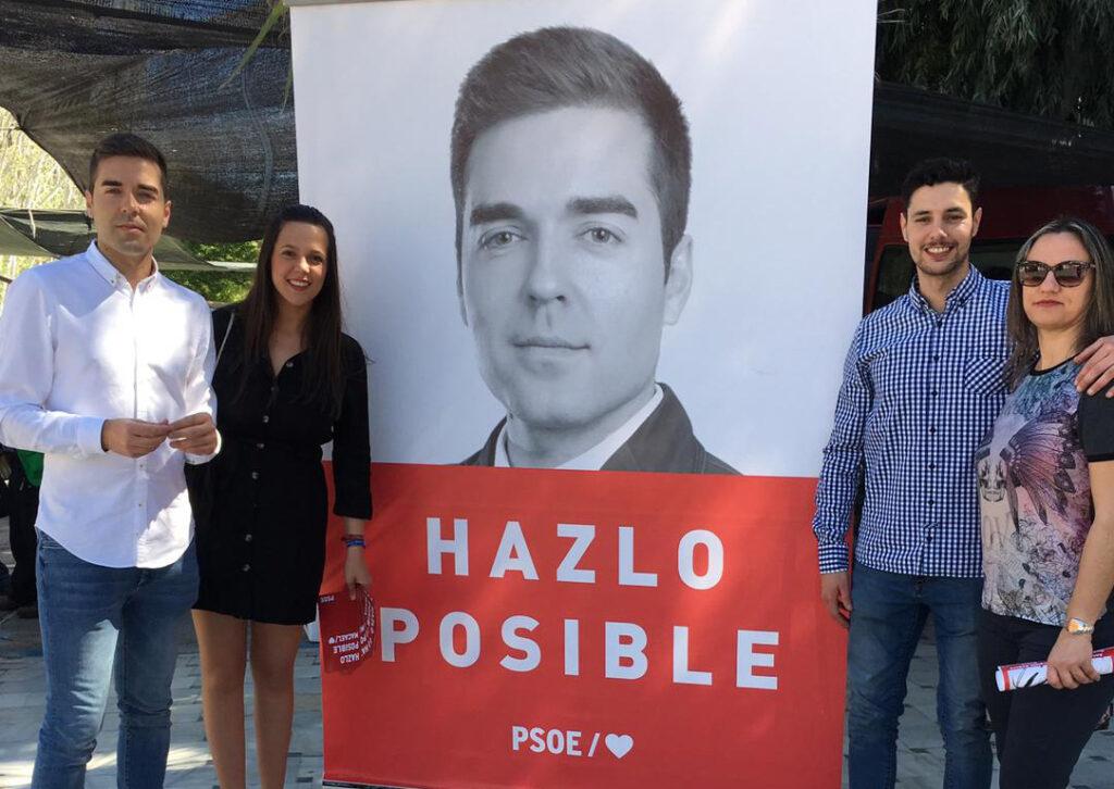 Macael   El candidato del PSOE Tapia