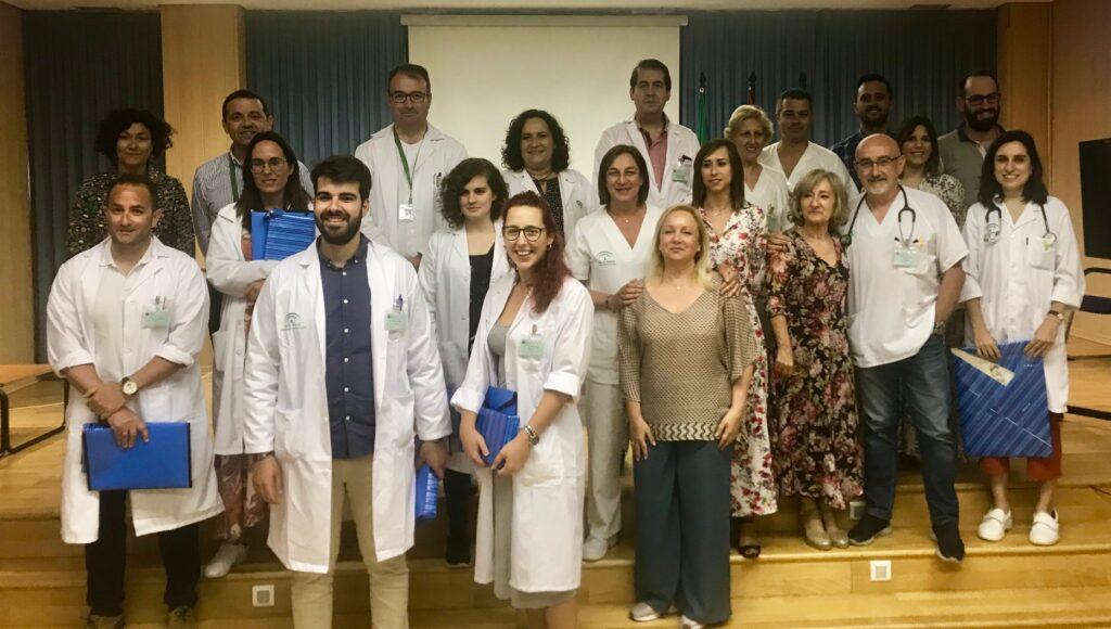 Residentes del Hospital de La Inmaculada