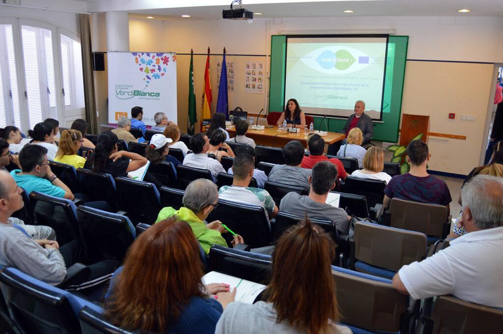 Verdiblanca | Jornada del proyecto europeo 'Code-N-Social'