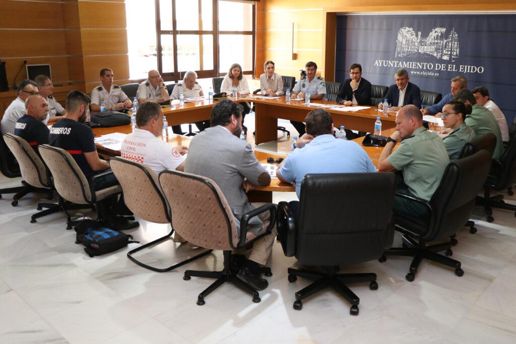 El Ejido | Junta Local Seguridad
