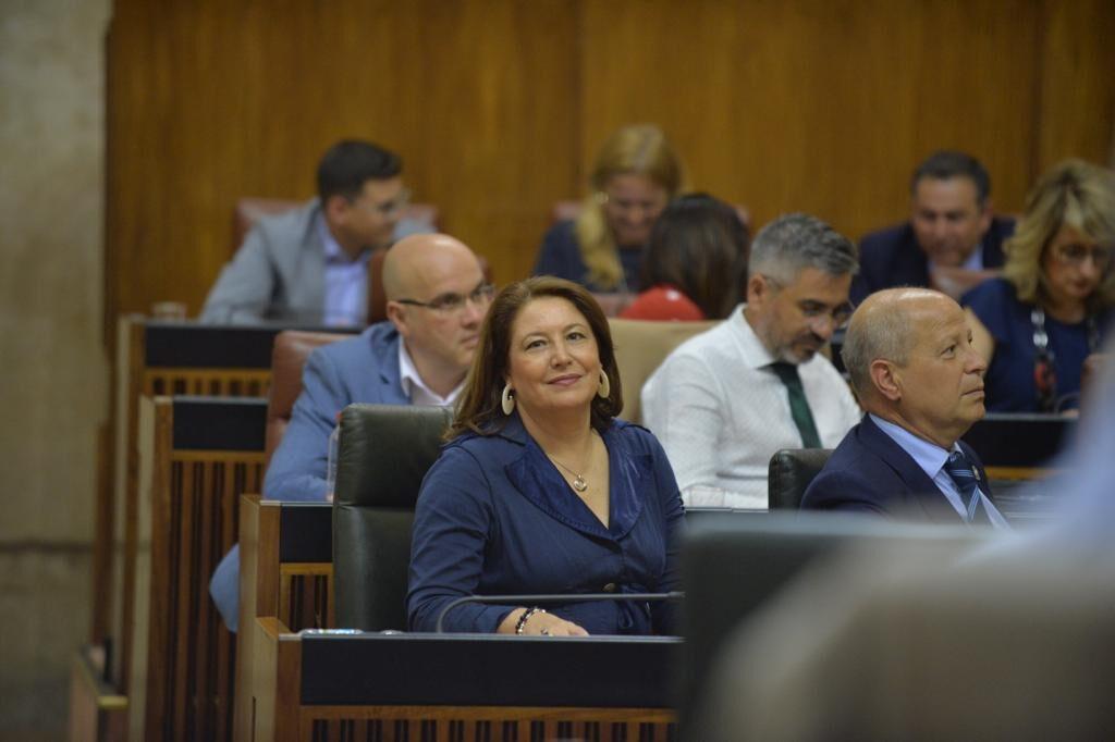 Carmen Crespo, consejera de Agricultura, Ganadería, Pesca y Desarrollo Sostenible