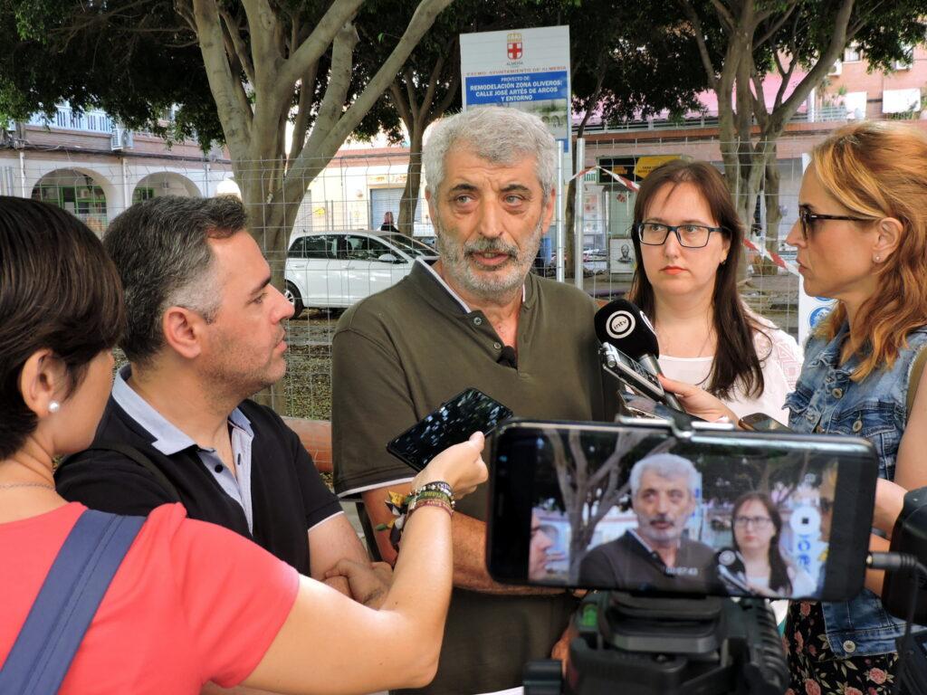 ¡Eusebio Villanueva, concejal socialista en el Ayuntamiento de Almería