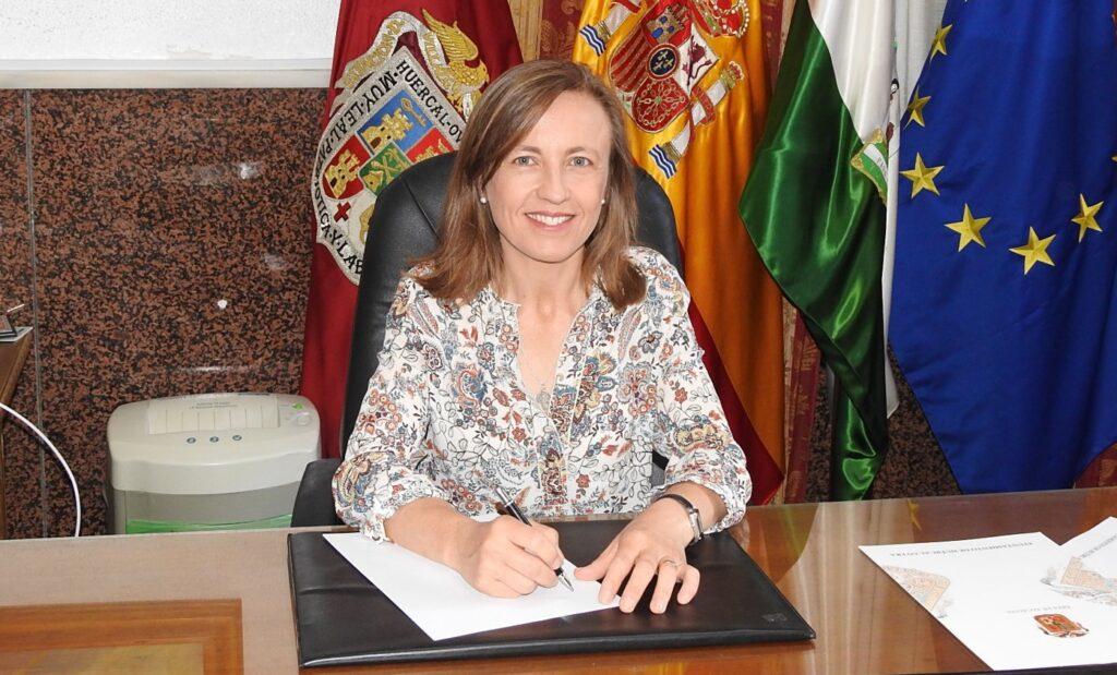 Francisca Fernández, alcaldesa de Huércal Overa