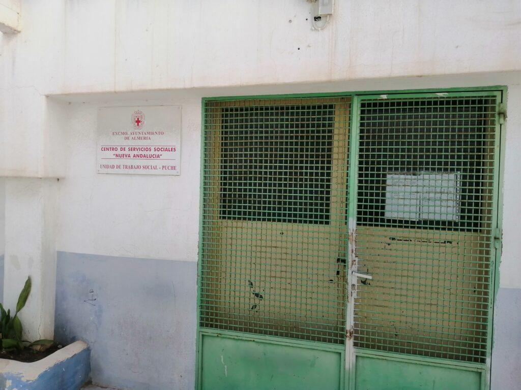 Almería | Puerta Servicios Sociales de El Puche