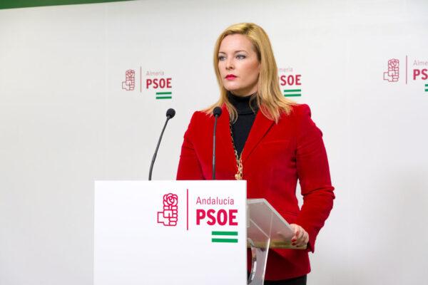 PSOE Adra   Teresa Piqueras, portavoz socialista en el Ayuntamiento de Adra
