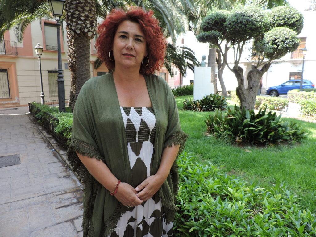 Amparo Ramírez, concejala del PSOE en el Ayuntamiento de Almería