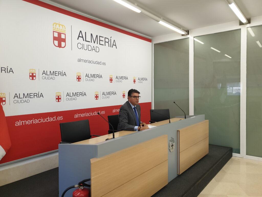 Miguel Cazorla, portavoz de Ciudadanos en el Ayuntamiento de Almermía.