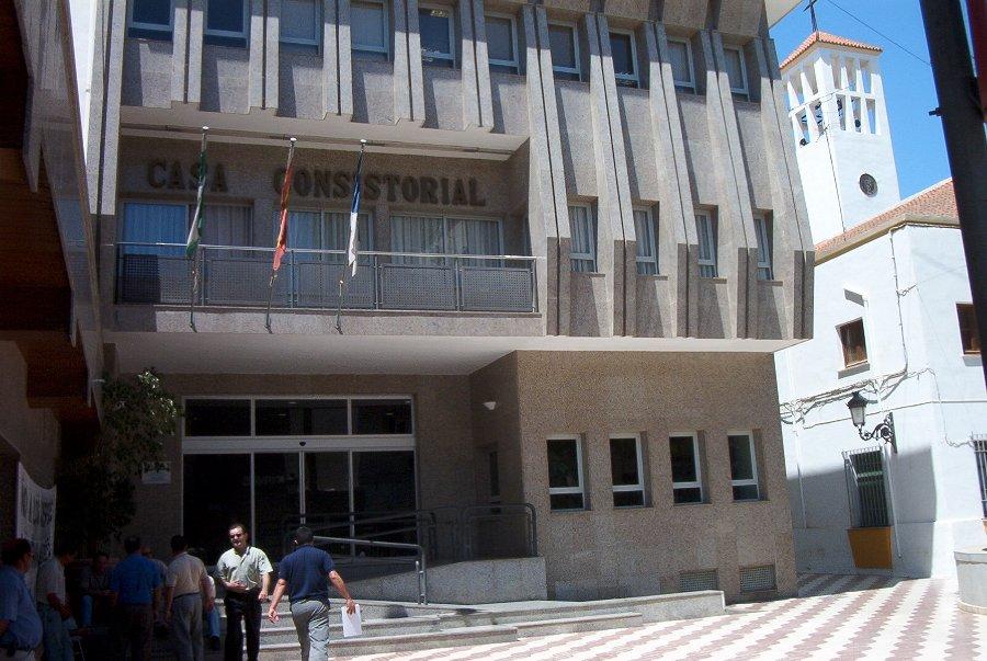 Ayuntamiento de Roquetas de Mar.