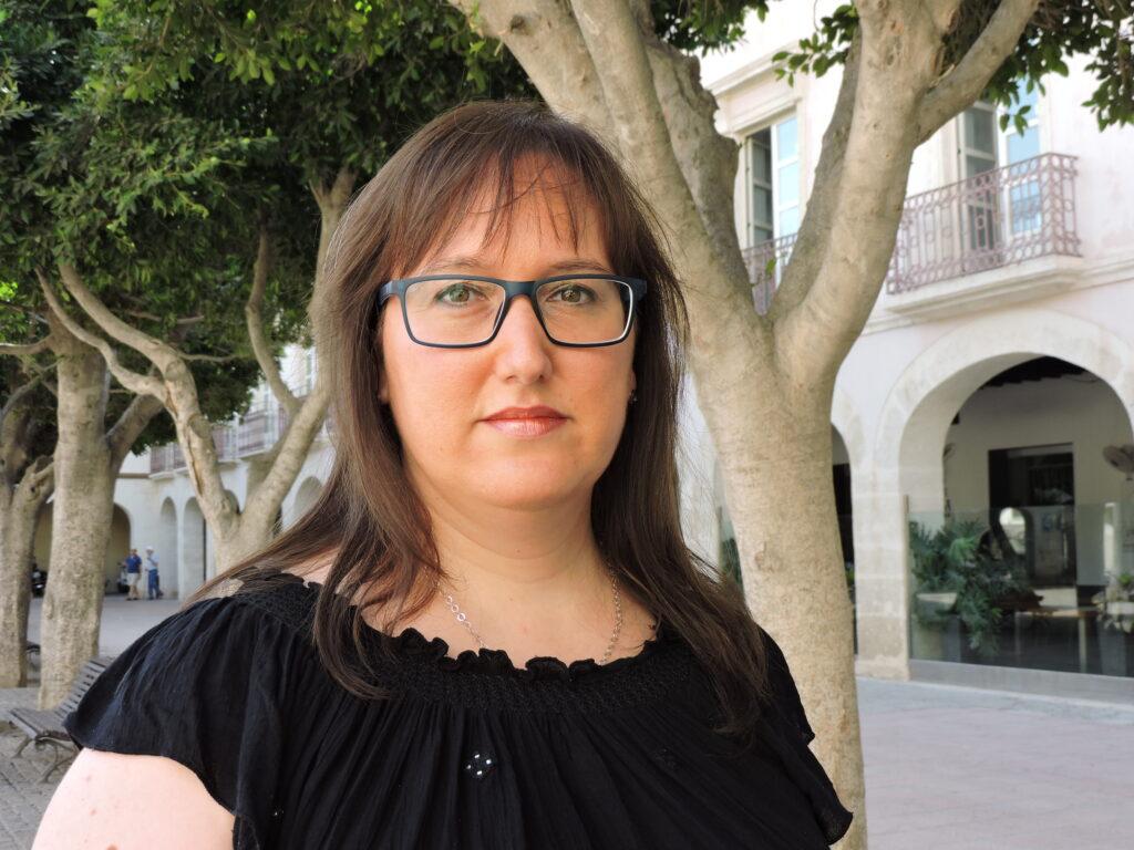 Lidia Compadre, concejala del PSOE en el Ayuntamiento de Almería.
