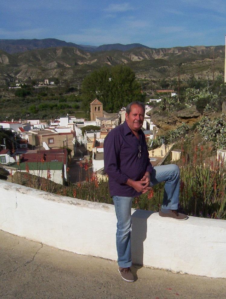 José Manuel Martínez, portavoz del PSOE en Santa Cruz de Marchena.