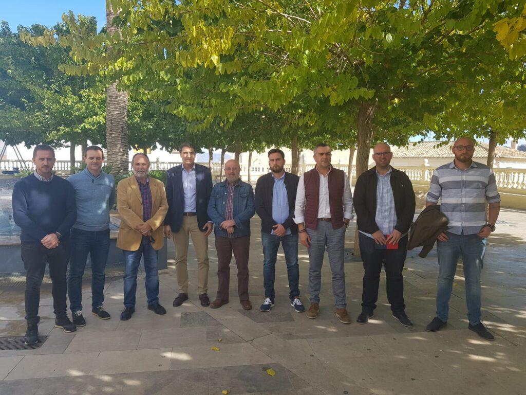 Encuentro de alcaldes del Valle del Almanzora.