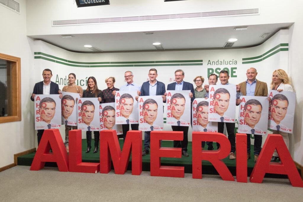 Candidatos del PSOE de Almería a las Elecciones Generales del 10 de noviembre