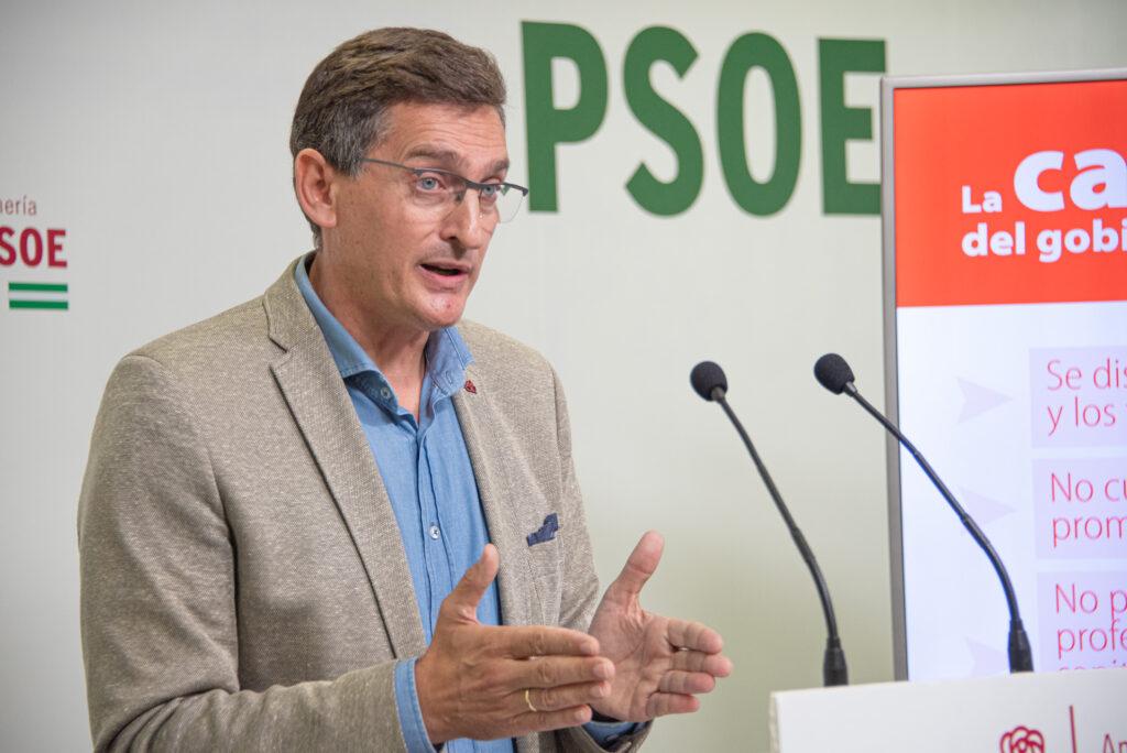El secretario general del PSOE de Almería, José Luis Sánchez Teruel.