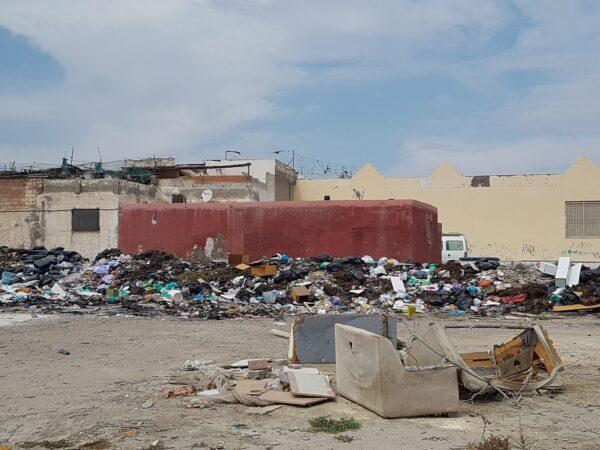 Basuras en el barrio de El Puche