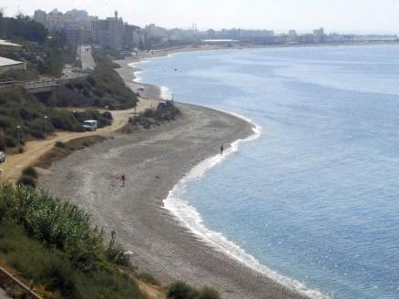 Playa de la Rana en Adra
