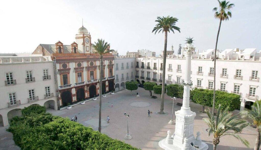 Plaza Vieja de Almería capital.
