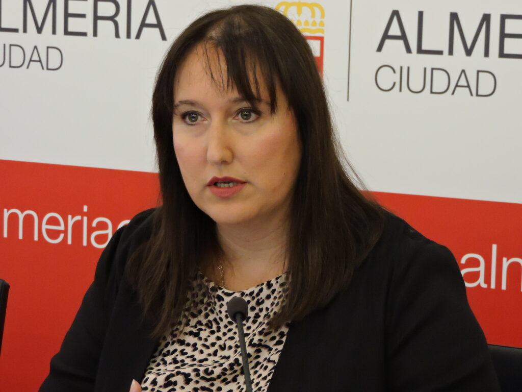 Lidia Compadre, concejala del PSOE en Almería.