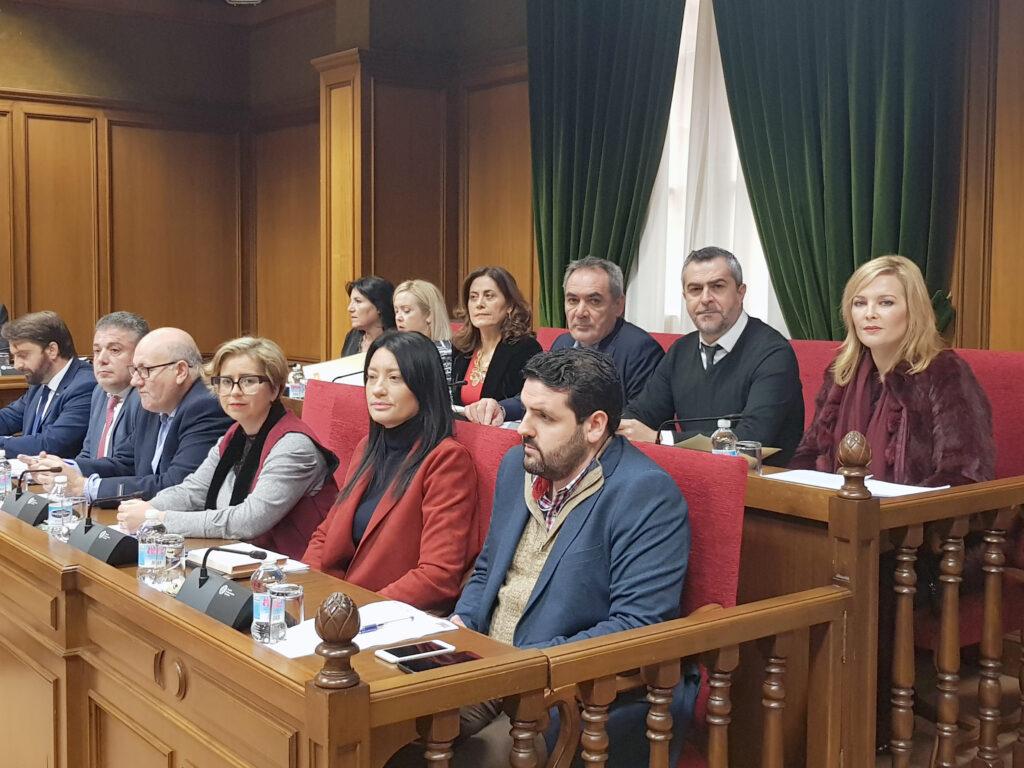 Diputados y diputadas provinciales del PSOE en la Diputación Provincial.