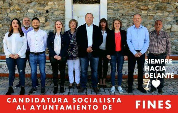 PSOE municipal de Fines.