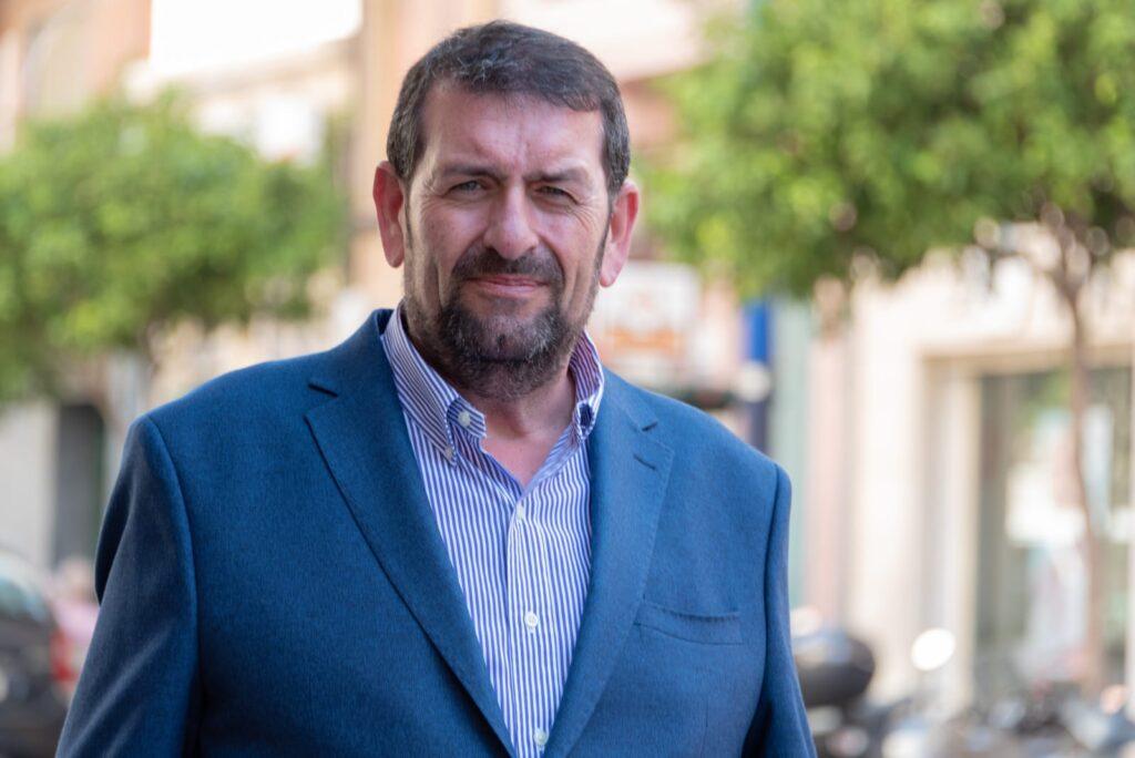 Martín Gerez, portavoz del PSOE en Vera.