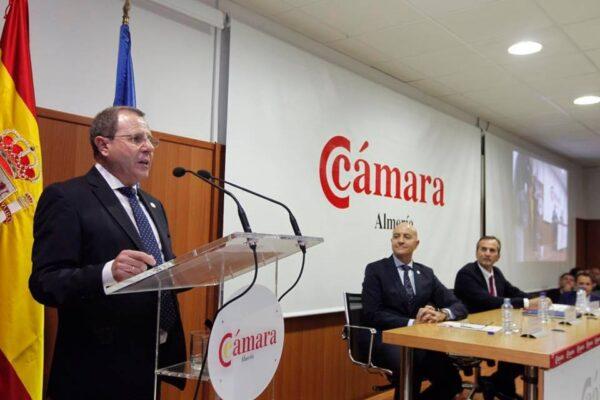 Jerónimo Parra, nuevo presidente de la Cámara de Comercio de Almería
