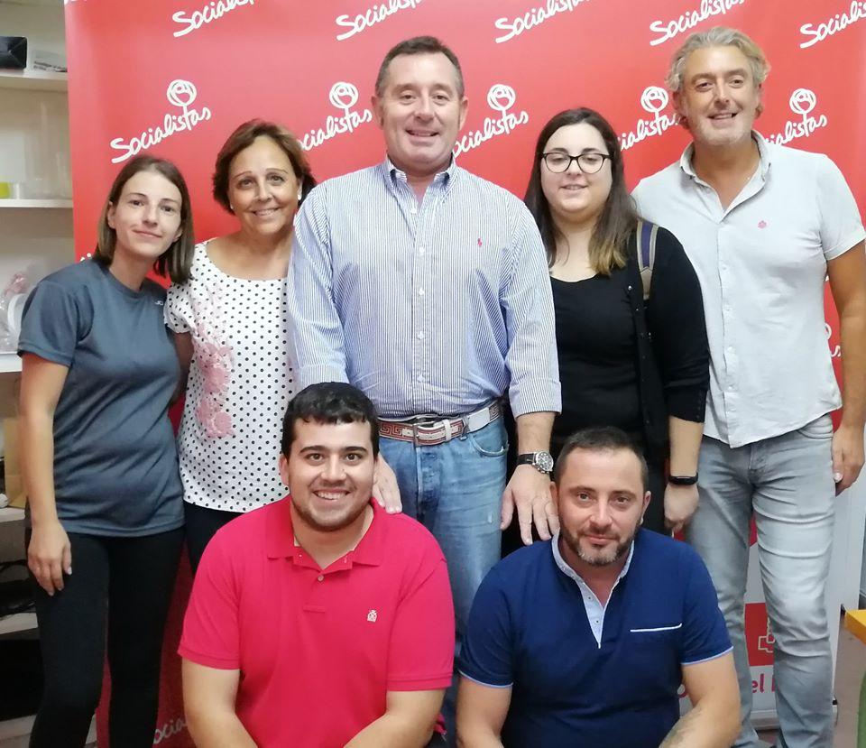 Ejecutiva local del PSOE de Olula del Río