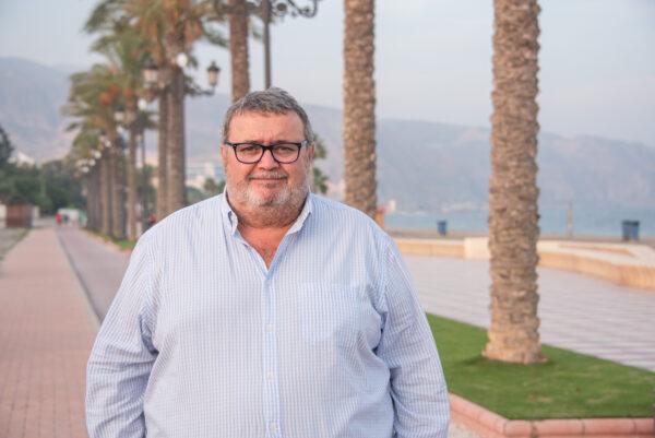 Manolo García, portavoz del PSOE en Roquetas de Mar.