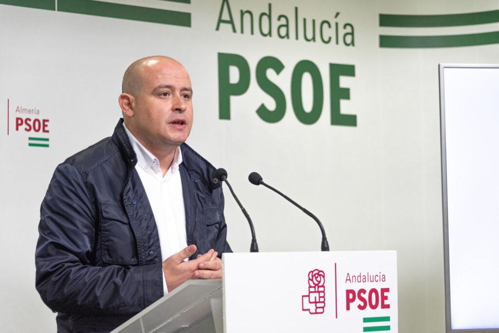 Antonio Martínez, secretario de Organización del PSOE de Almería.